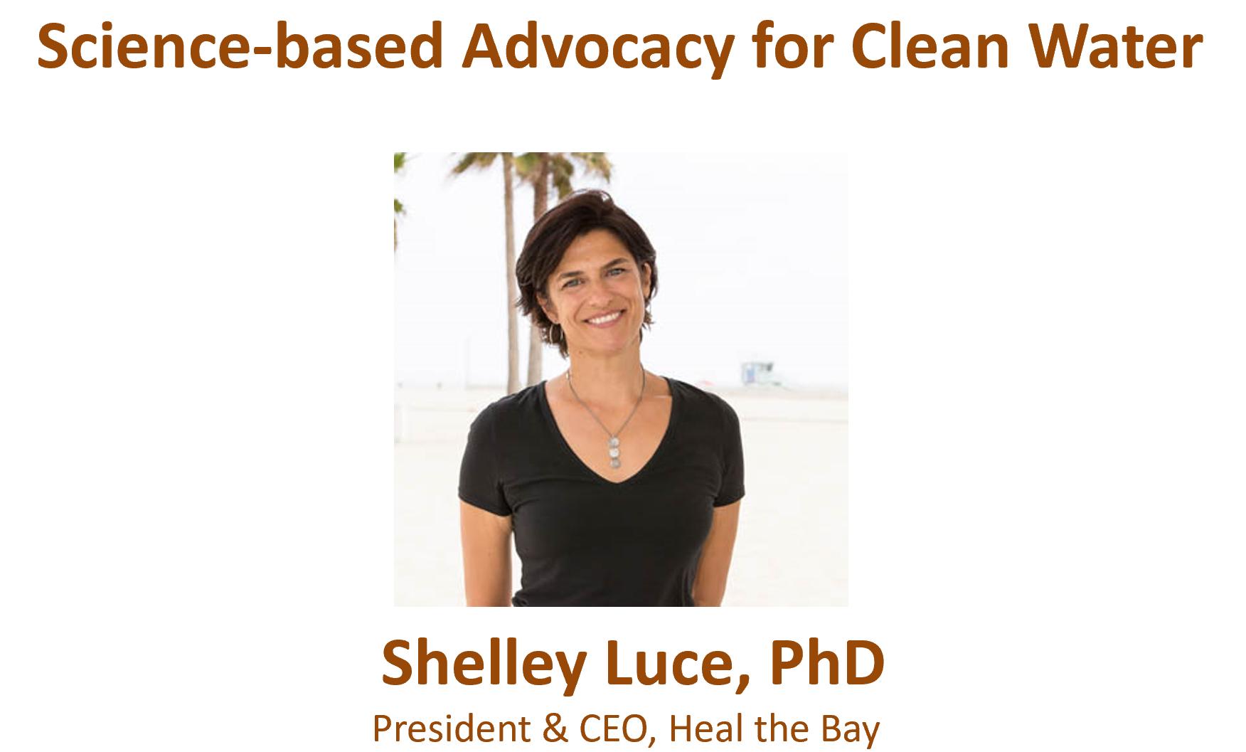 Shelley Luce talk